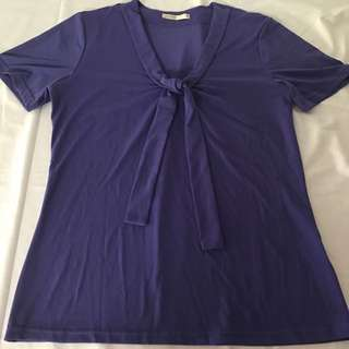 Purple Ladies Top Size 10
