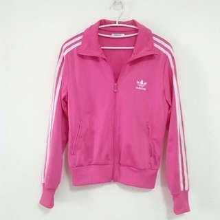 愛迪達粉紅運動外套