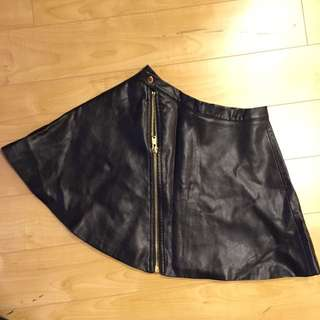 A-line Skirt With Front Zip