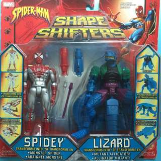 1999年珍藏版Shape Shifters SPIDER-MAN VS VENOM