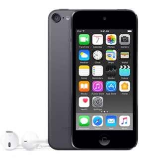 16 GB  iPod 6 Space Grey