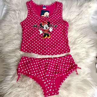 Disney Minnie Mouse Girls / Ladies PJ Set.