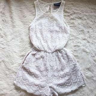 👑 Minkpink Lace Playsuit Size XS