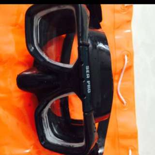 Sea Pro Diving Mask With Degree