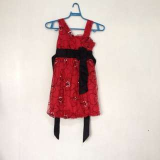 red dress (for kids) 🌹