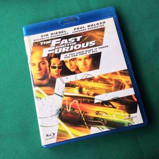 fast and furious bluray
