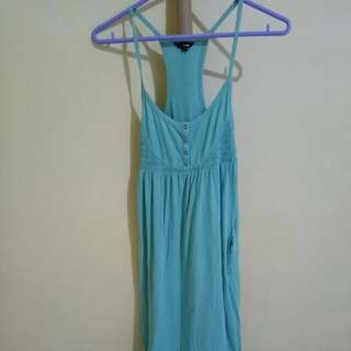 Hurley Teal Maxi/Long Summer Dress