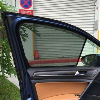 Volkswagen Golf mK7 Sunshade magnetic