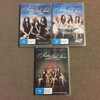 Pretty Little Liars S1-S3