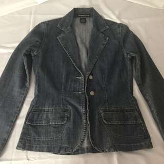 Ladies Denim Jacket Size 8
