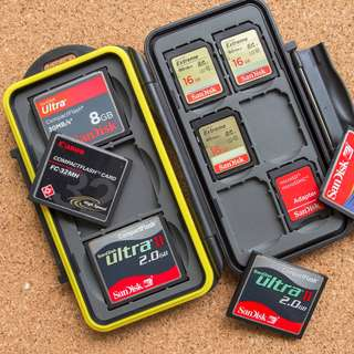 SD Cards Memory Case