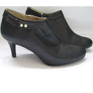 Black Booties // Closed Toe Heels #FreePostage