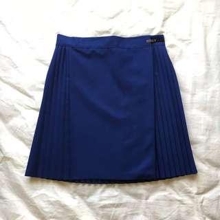 navy netball skirt