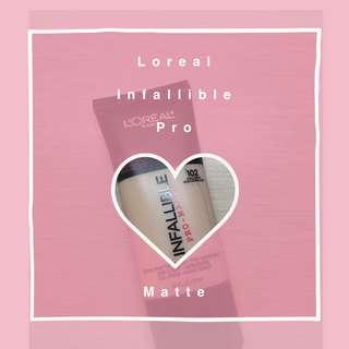 Loreal Infallible Pro Matte#102