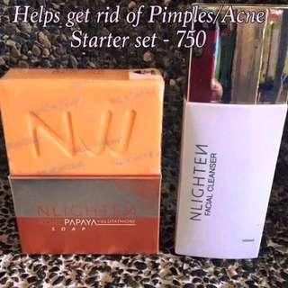 Nworld nlighten Pimple acne set