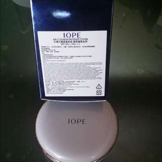 。含運費IOpE水凝光感氣墊粉底.極緻遮瑕。Spf50係數。
