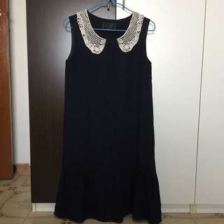 Little Match Girl Dress (Navy)