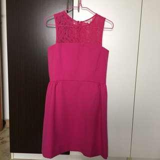 Fuchsia Color Southhaven Dress