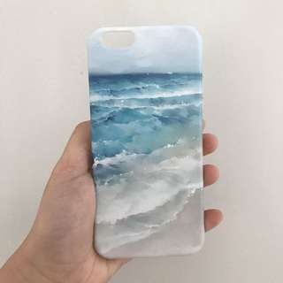 Sea blue case