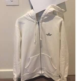 Supreme X Undercover White Zip-up