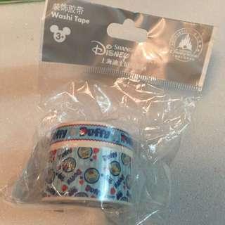 上海迪士尼樂園Duffy膠帶 包平郵
