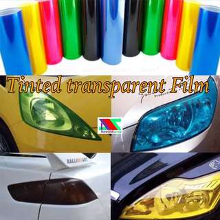 Transparent Tinted Film Sticker