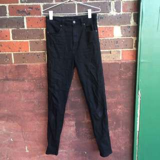 Black Denim Jeans (Riders by Lee)