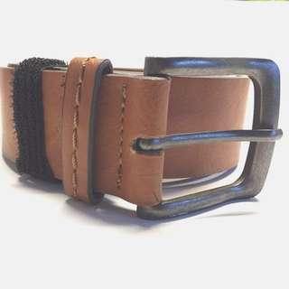 Bershka Men's Light Brown Belt