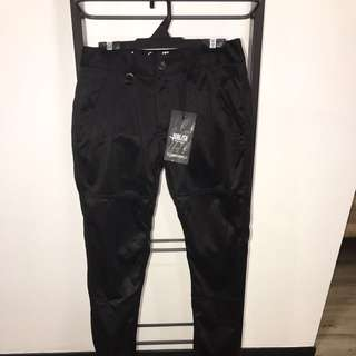 Brand New With Tags Publish Black Jogger Pants Size 28