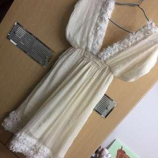 雪紡浪漫洋裝