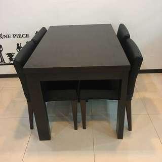 ㄧ桌四椅 餐桌