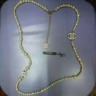 Chanel Pearl Necklace (100% Authentic)