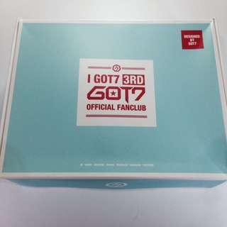 Got7 3기 iGot7 fanclub membership