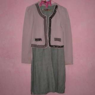 Set Bolero Dan Dress