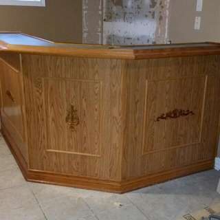 Wet Bar  And Kitchen  Cabinets