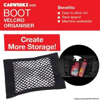 BRAND NEW Boot Velcro Storage Organiser