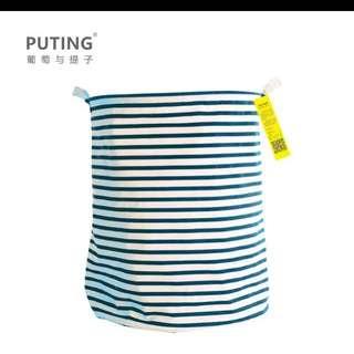 特價《超大容量》收納桶 收納袋 收納箱 洗衣籃 置物籃 (IKEA 無印 zakka)