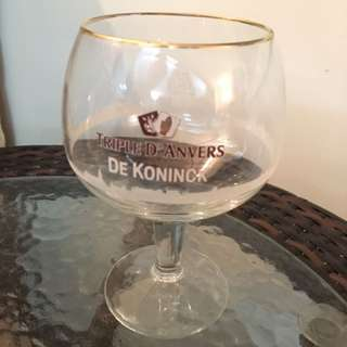 Brand New Rare Vintage Triple Dekoninck Beer Glass