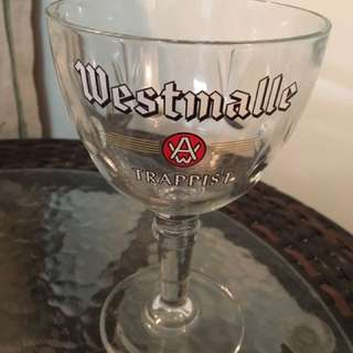 Brand New Rare Vintage West Malle Beer Chalice