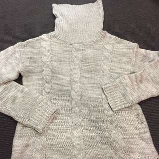 Knitted Roll Jumper