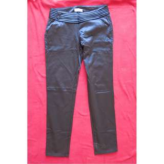 Silk slacks