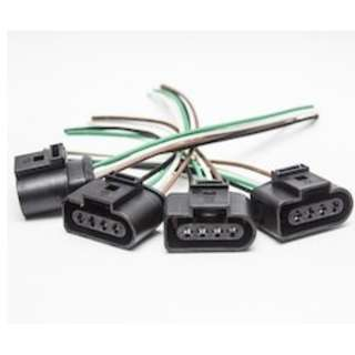 4- Audi VW Jetta Ignition Coil Harness Repair Kit 1J0973724 4B0973724