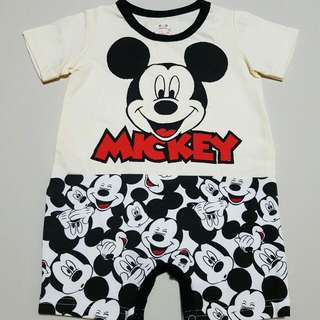 Baby Romper Disney Mickey Mouse design