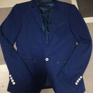 navy blue coat/blazer