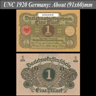 1920 Germany one mark (德國一馬克)