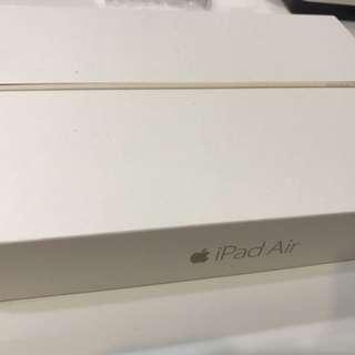 apple ipad Air2 wifi 16g 金色 全機包膜 女用機
