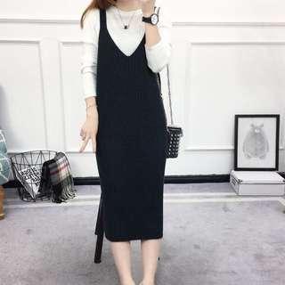 🆕 BNWT Knitted Slip Dress (Back Slit)