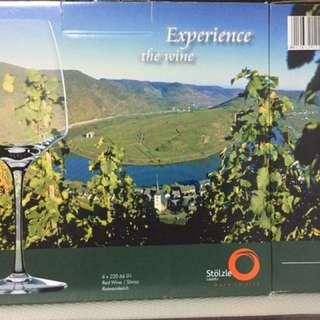 Stolze German Made Wine glass