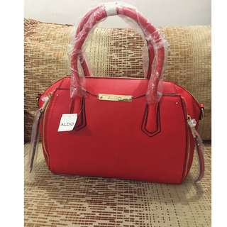 ALDO HALIFAX RED hand bag
