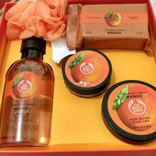 The Body Shop BIG Gift Set (Mango Collection) Stengah Harga